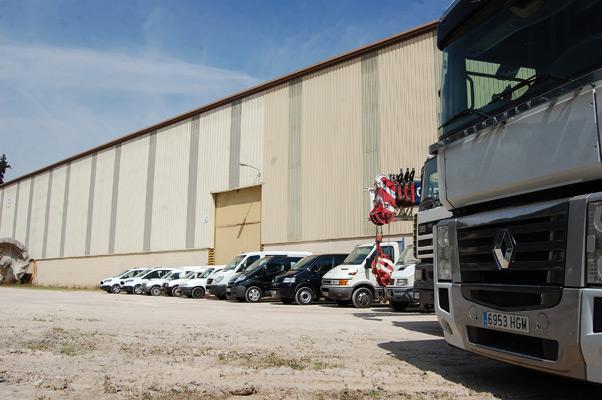Vehiculos industriales para papeleras COPASA